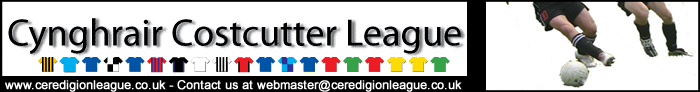 Costcutter Ceredigion League Website logo
